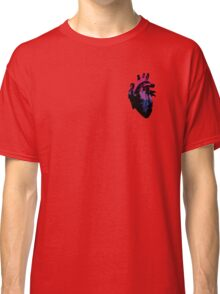 Bisexual Pride Heart (with Black detail) Classic T-Shirt