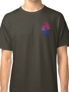 Bisexual Pride Heart Classic T-Shirt