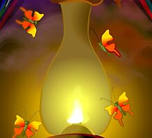 Butterflies searching light  by tillydesign