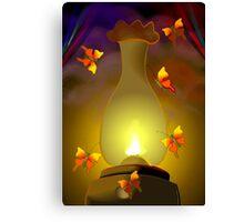 Butterflies searching light  Canvas Print