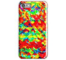 Mixed paint iPhone Case/Skin