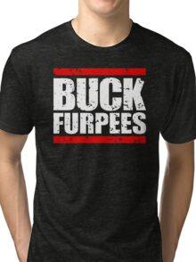Buck Furpees Gym motivation Workout Tri-blend T-Shirt