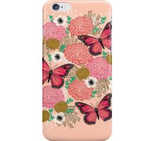 Monarch Florals by Andrea Lauren  iPhone Case/Skin