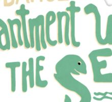 Enchantment Under The Sea Dance Sticker