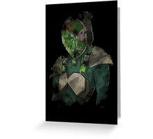 Silver crow accel world  Greeting Card