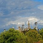 A castle in the middel of the forest by julie08