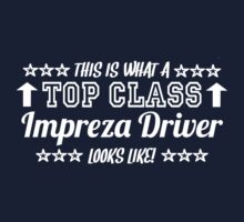 This Is What A Top Class Impreza Driver Looks Like Kids Clothes