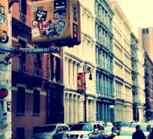 SoHo Street Corner Sticker