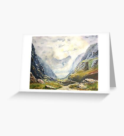 Cader Idris. Greeting Card