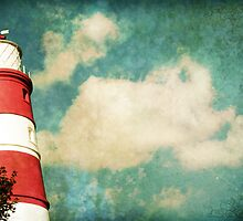 Lighthouse - Postcard only by Sybille Sterk