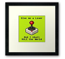 The Gamer's Theorem Framed Print