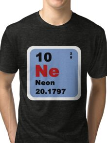 Periodic Table of Elements: No. 10 Neon Tri-blend T-Shirt