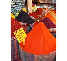 Spicy Colours Photographic Print
