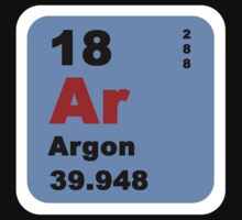 Periodic Table of Elements: No. 18 Argon by walterericsy