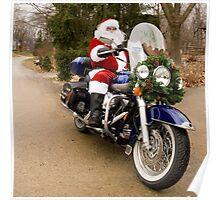 Harley Santa Poster