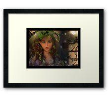 Elven Harvest Framed Print
