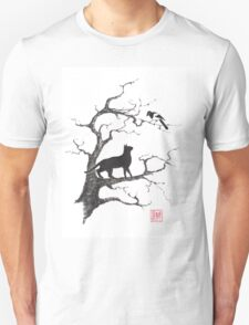 Dangerous conversations sumi-e painting T-Shirt