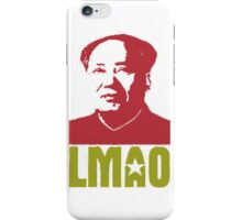 LMAO Chairman Mao iPhone Case/Skin