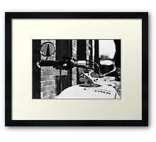 Cafe'nated R65 Framed Print
