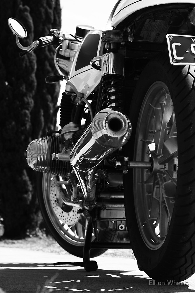 """BMW R65 """"Cafe Racer"""" by Ell-on-Wheels"""