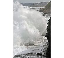 Wall of Water! Photographic Print