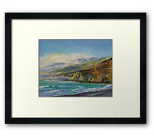 Jade Cove Framed Print