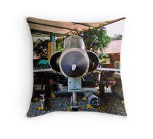 Bushwar Veteran - Mirage III CZ Throw Pillow