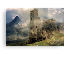 A Requiem for Lost High Places. Canvas Print