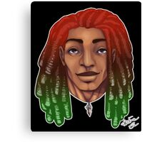 Dreads are cool. Canvas Print