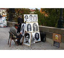 Street artist Photographic Print