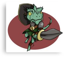Kobold Warrior Canvas Print