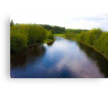 Fairy - tale  ...Bjora River... Nord Trondelag.  Norway .  Brown Sugar Story.2009. Favorites: 3 Views: 452 . Tight lines friends ! WooHoo! Canvas Print