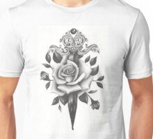 Rose and Dagger Unisex T-Shirt