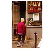 Chez Mai, Latin Quarter, Paris Poster