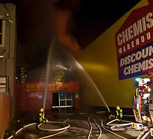Reject shop Fire by John Vandeven