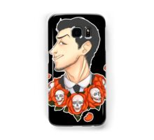 Jim Moriarty - Flowers Samsung Galaxy Case/Skin