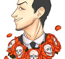 Jim Moriarty - Flowers by mizkatt