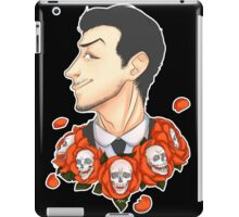 Jim Moriarty - Flowers iPad Case/Skin