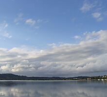Scenic view on lake Macquarie nsw by claire87