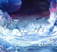 Land of the Ice Castles by Caroline Senior