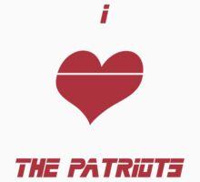 I <3 The Patriots by Antihero