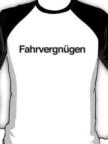 Fahrvergnügen - Black Ink T-Shirt