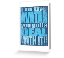 AVATAR KORRA'S GOT CLASS Greeting Card