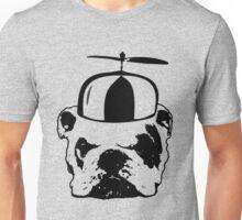 bulldog whirly hat Unisex T-Shirt