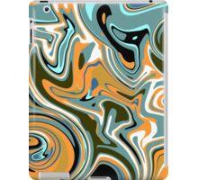 Abstract Liquid iPad Case/Skin