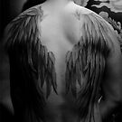 A Policeman's Hidden Wings by TattooTemple