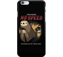 no speed iPhone Case/Skin