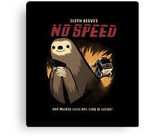 no speed Canvas Print