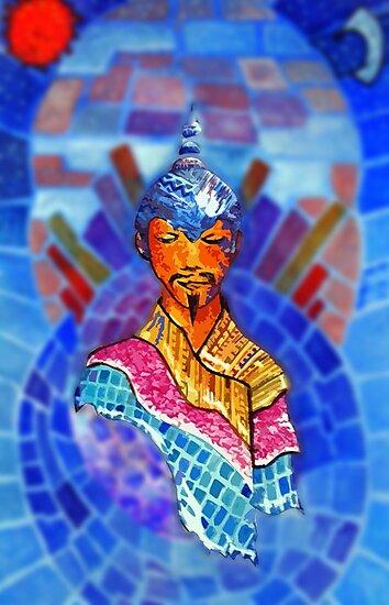 Padmasambhava minimal and mad by JohnG