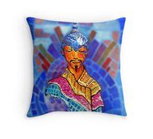 Padmasambhava minimal and mad Throw Pillow